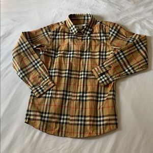 Burberry Childrens 10Y button down shirt